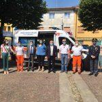 nuova ambulanza croce bianca ciserano inaugurazione